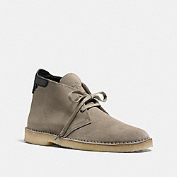 COACH KINGSTON CHUKKA BOOT - FOG - FG1388