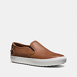 COACH UNION SLIP ON SNEAKER - SADDLE - FG1440