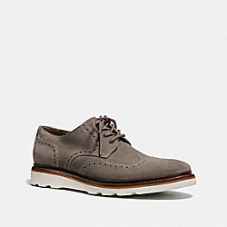 BEDFORD WINGTIP BOOT - FOG - COACH FG1443