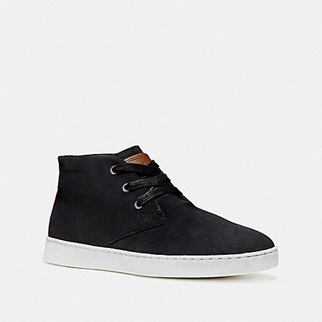 COACH fg1504 SUEDE BOOT BLACK