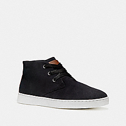 COACH SUEDE BOOT - BLACK - FG1504