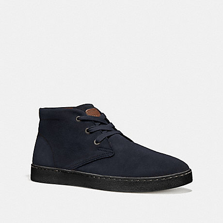 COACH SUEDE BOOT - MIDNIGHT - FG1504