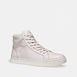 COACH C204 HIGH TOP SNEAKER - WHITE - FG1505
