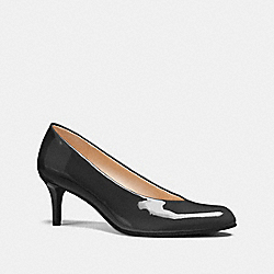 ROUND TOE PUMP - BLACK - COACH FG1537