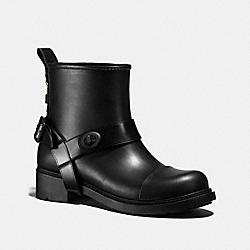 MOTO RAIN BOOTIE - BLACK - COACH FG1834