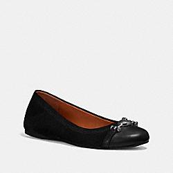 LEILA BALLET - BLACK - COACH FG1843