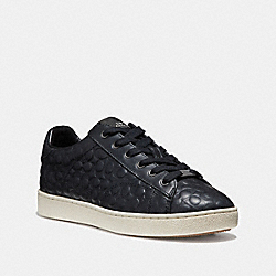 C126 LOW TOP SNEAKER - BLACK - COACH FG1856