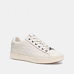 C126 LOW TOP SNEAKER - CHALK - COACH FG1856