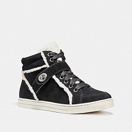 COACH PEMBROKE HIGH TOP - BLACK - fg1857