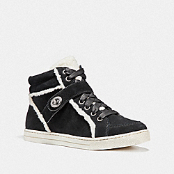 PEMBROKE HIGH TOP - BLACK - COACH FG1857