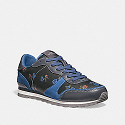 C142 WITH TOSSED ROSE PRINT - MIDNIGHT NAVY/INK BLUE - COACH FG2123