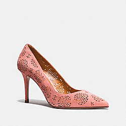 WAVERLY PUMP WITH CUT OUT TEA ROSE - PEONY - COACH FG2201