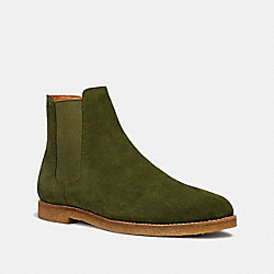 CHELSEA BOOT - OLIVE - COACH FG2380