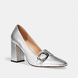 JADE LOAFER - SILVER - COACH FG2395