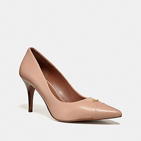 COACH POLLY PUMP - Nude Pink - fg2555