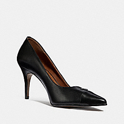 POLLY PUMP - BLACK - COACH FG2555