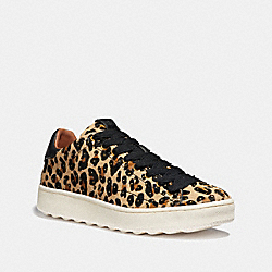 C101 WITH LEOPARD PRINT - NATURAL/BLACK - COACH FG2731