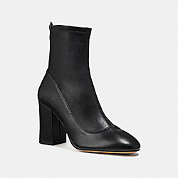 GIANA STRETCH BOOTIE - BLACK - COACH FG2827