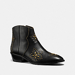 DILLION BOOTIE - BLACK - COACH FG2916