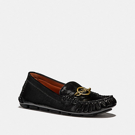 COACH MARGOT LOAFER - BLACK - FG2956