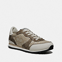 C142 RUNNER - LIGHT KHAKI/CHALK - COACH FG2980
