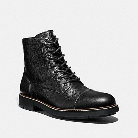 COACH CAP TOE BOOT - BLACK - FG2989