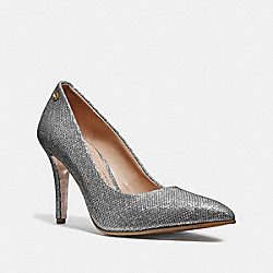 ADDIE PUMP - SILVER - COACH FG3137