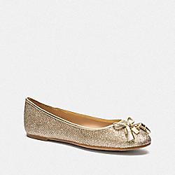 BENNI BALLET - GOLD - COACH FG3139