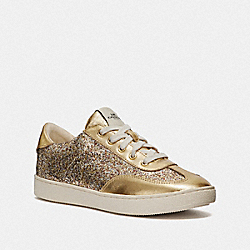 C116 LOW TOP SNEAKER - GOLD - COACH FG3150