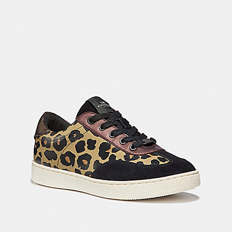 COACH C116 LOW TOP SNEAKER - BROWN/BLACK - FG3152