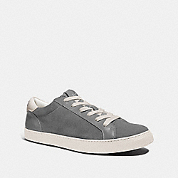 C126 LOW TOP SNEAKER - HEATHER GREY - COACH FG3205