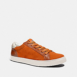 C126 LOW TOP SNEAKER - ORANGE - COACH FG3205