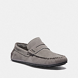 SLIPPER - HEATHER GREY - COACH FG3210