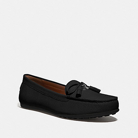 COACH GREENWICH LOAFER - BLACK - FG3449
