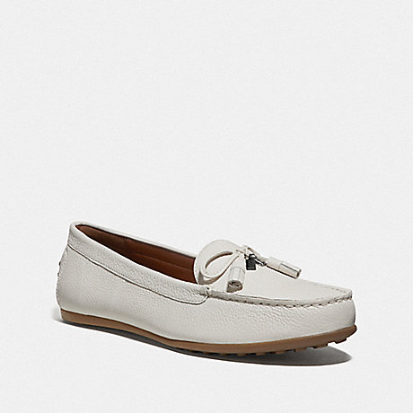 COACH GREENWICH LOAFER - CHALK - FG3449