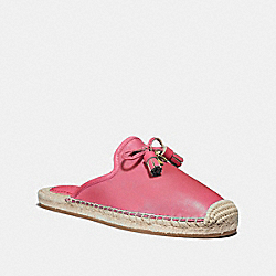 CASSIDY ESPADRILLE - PINK RUBY - COACH FG3459