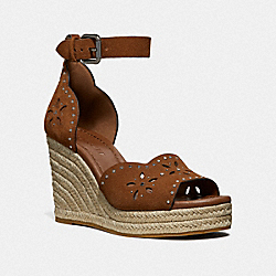 KELSI WEDGE - SADDLE - COACH FG3464
