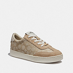 C116 LOW TOP SNEAKER - LIGHT KHAKI - COACH FG3473