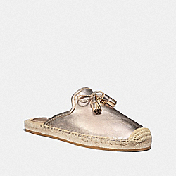 CASSIDY ESPADRILLE - CHAMPAGNE - COACH FG3479