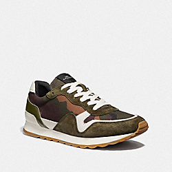 C142 WITH CAMO PRINT - GREEN CAMO - COACH FG3497