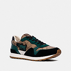 KEITH HARING C142 RUNNER - KHAKI/HOLLY - COACH FG3501