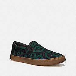 KEITH HARING C117 WITH HULA DANCE PRINT - BLACK SURFER - COACH FG3503