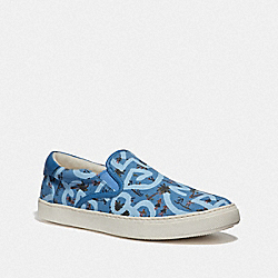 KEITH HARING C117 WITH HULA DANCE PRINT - BLUE SURFER - COACH FG3503