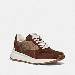 TECH RUNNER - KHAKI/SADDLE - COACH FG3511