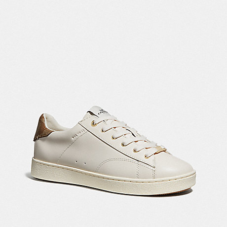 COACH C126 LOW TOP SNEAKER - CHALK - FG3548