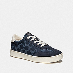 C116 LOW TOP SNEAKER - DENIM - COACH FG3762