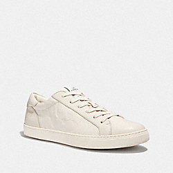 C126 LOW TOP SNEAKER - CHALK - COACH FG3838