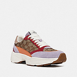 C152 TECH RUNNER - KHAKI/MULTICOLOR - COACH FG4265