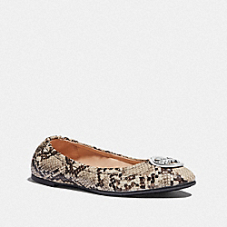 BAILEY BALLET - NATURAL - COACH FG4298