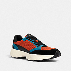 C152 TECH RUNNER - DARK ORANGE MULTI - COACH FG4385
